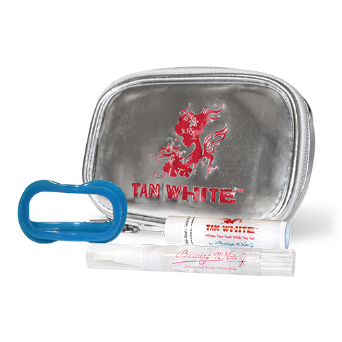 Tan White UV Teeth Whitening Kit