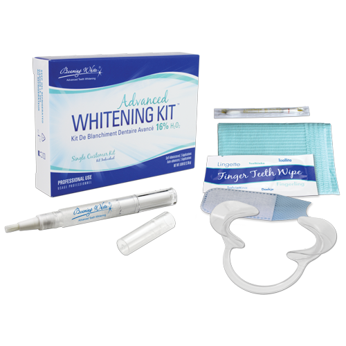Advanced Whitening Kit with 16 Percent Hydrogen Peroxide