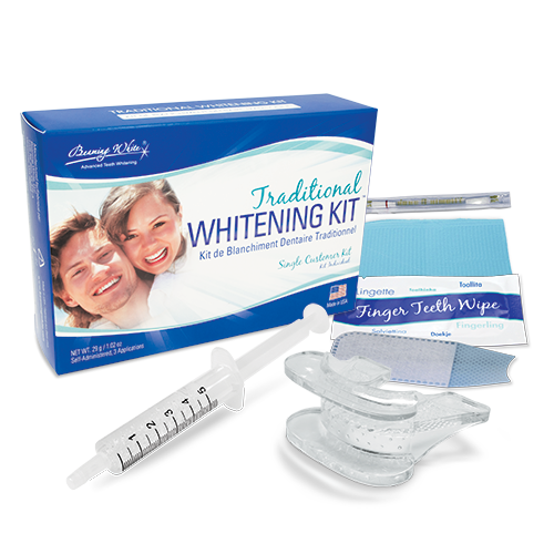 traditional teeth whitening kit