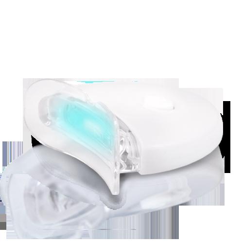 battery operating led light for home teeth whitening
