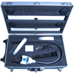 futura 2400 teeth whitening light carry case - open