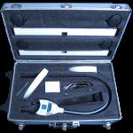 futura 2400 teeth whitening light carry case - open