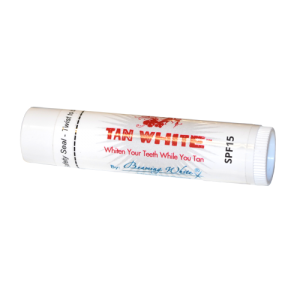 tan white spf 15 lip balm