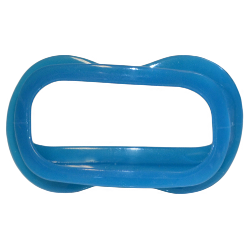 tan white blue lip retractor