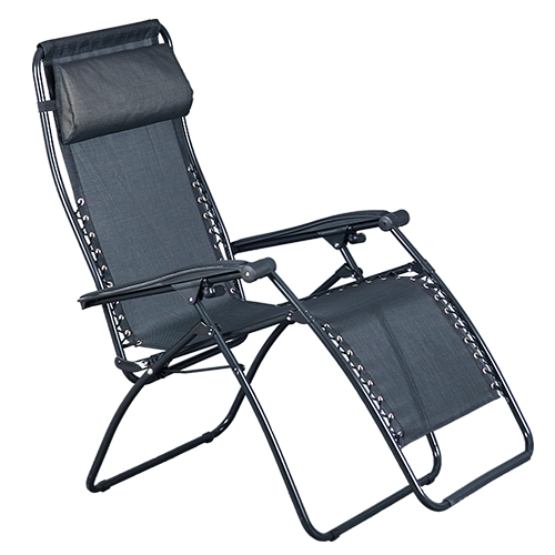 Portable, Reclining, Mesh Chair for Mobile Teeth Whitening