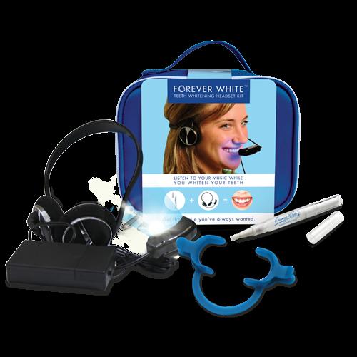 forever white teeth whitening headset