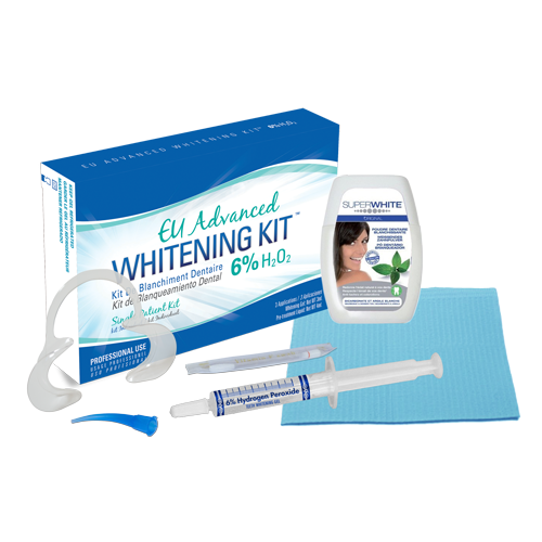 Eu Advanced Whitening Kit 6 H₂o₂