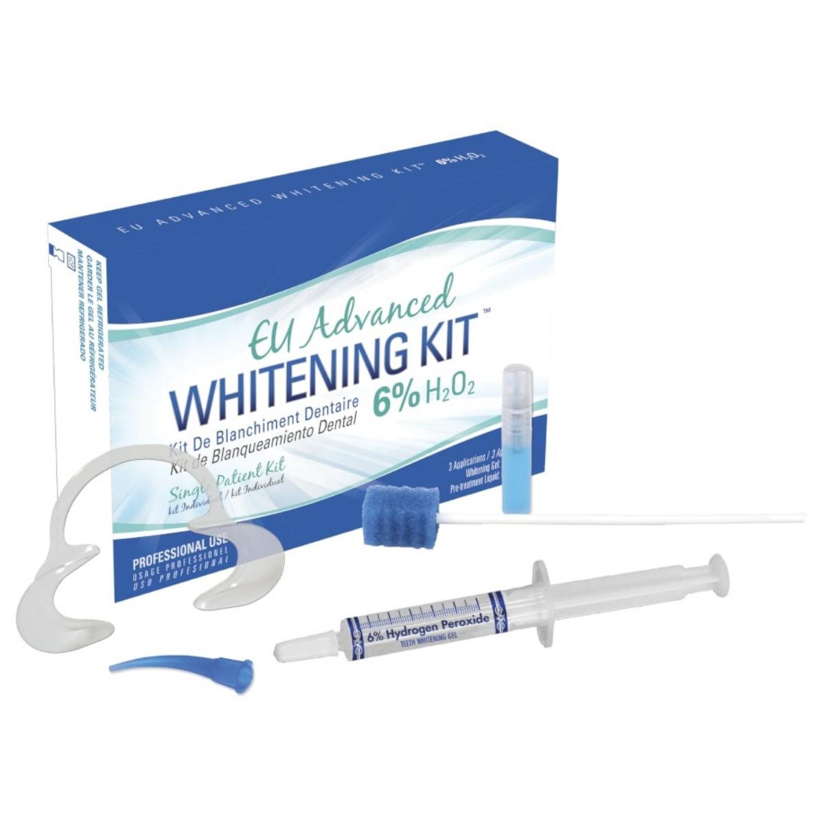 EU Advanced Whitening Kit 6 H2O2