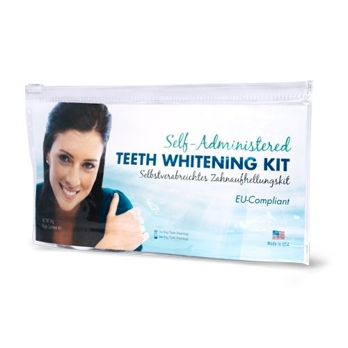 EU Compliant Non-Peroxide Self-Administered Whitening Kit - Clear Bag Package