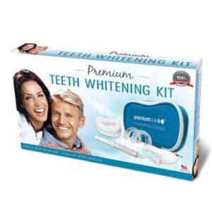Non Peroxide EU Compliant Premium Teeth Whitening Kit - Mockup Box