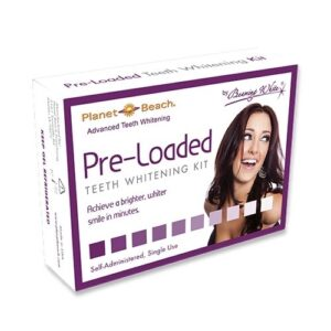 PB Preloaded Tray Kit Teeth Whitening Solution