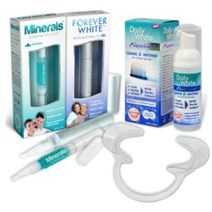Smile Maintenance System - Daily White Fusion, Forever White XL, Mineral Enamel Booster, Cheek Retractor - All Items