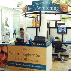 Teeth Whitening Kiosk - Circular