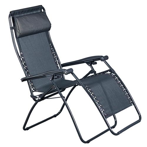 Portable Mesh Chair Black