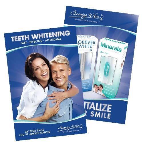 Teeth Beaming Whitening Poster
