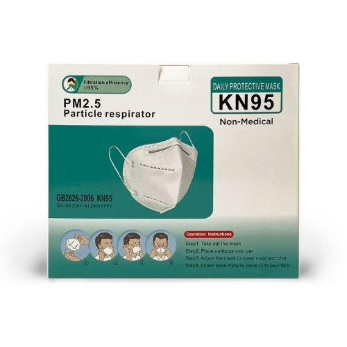KN95 Face Masks Respirators - Box