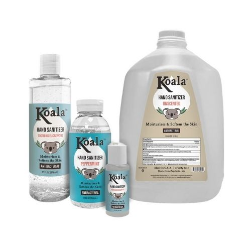 Koala Home Products Hand Sanitizer - 16oz, 12oz, 2oz, 1 Gal