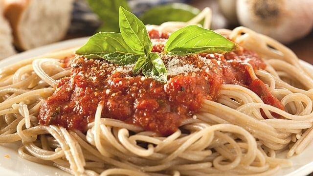 avoid marinara sauce